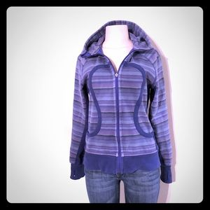 Lululemon Purple/Blue Poncho Scuba Jacket